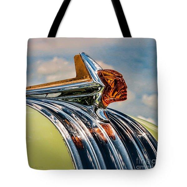 1952 Pontiac Hood Ornament Tote Bag