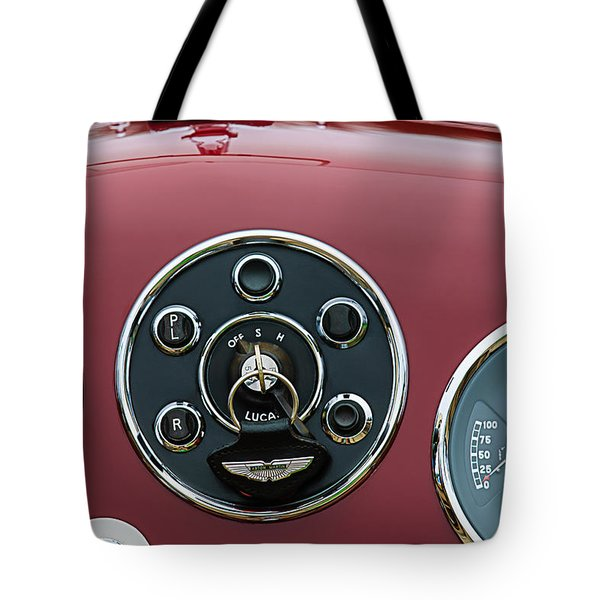 1953 Aston Martin Db2-4 Bertone Roadster Instrument Panel Tote Bag