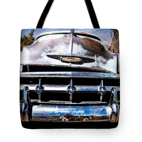 1953 Chevy Bel Air Tote Bag