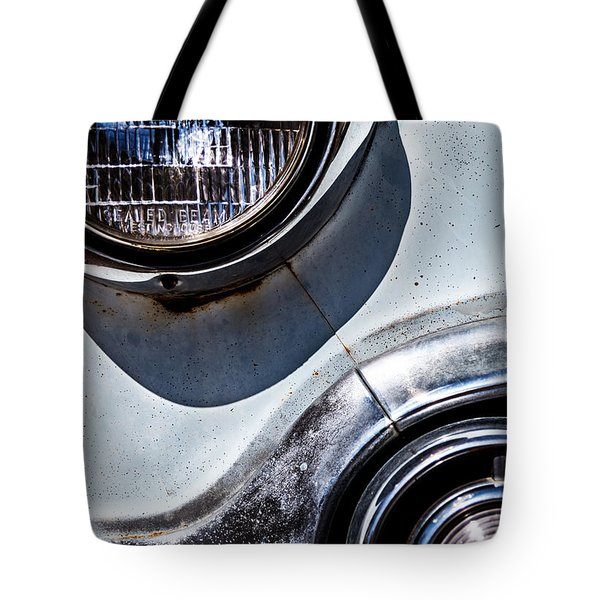 1953 Chevy Headlight Detail Tote Bag