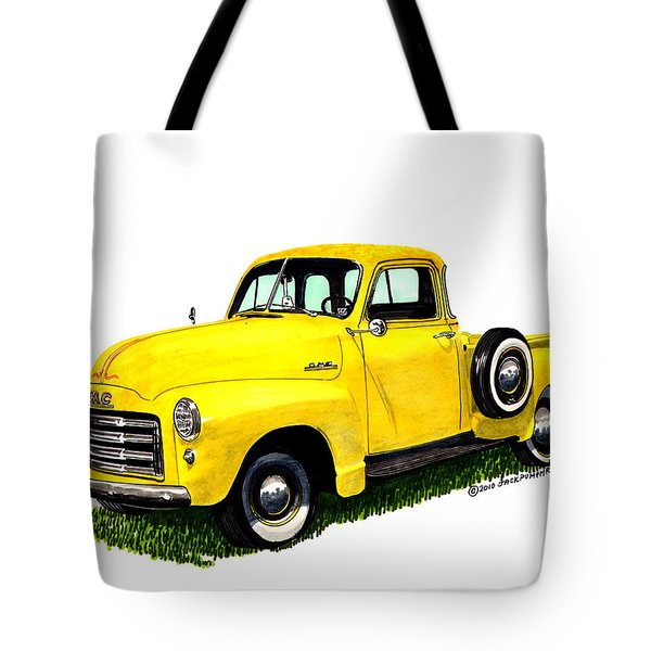 1953 G M C 5-window Pick-up Tote Bag by Jack Pumphrey