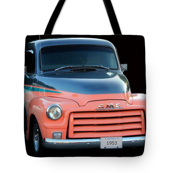 1953 Gmc Pick-up Tote Bag