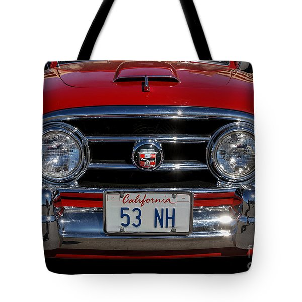 Tote Bag featuring the photograph 1953 Nash Healey by Mitch Shindelbower