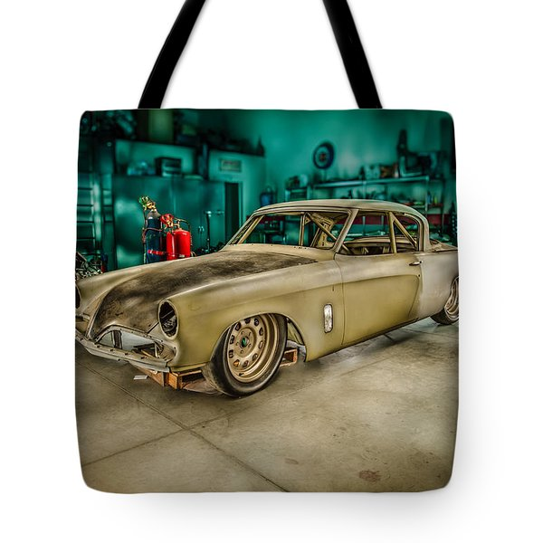 1953 Studebaker Hawk Tote Bag