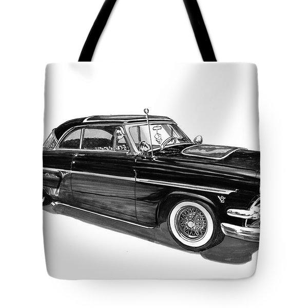 1954 Ford Skyliner Tote Bag by Jack Pumphrey
