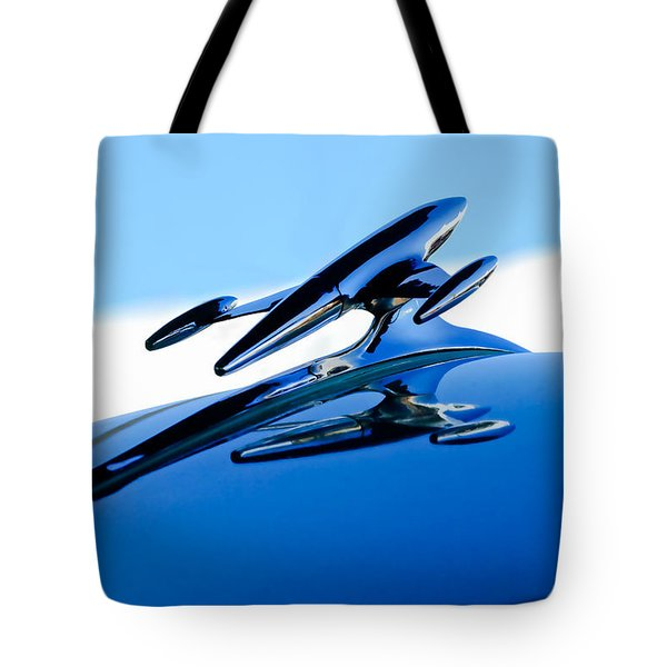 1954 Gmc 100 Pickup Hood Ornament Tote Bag by Jill Reger