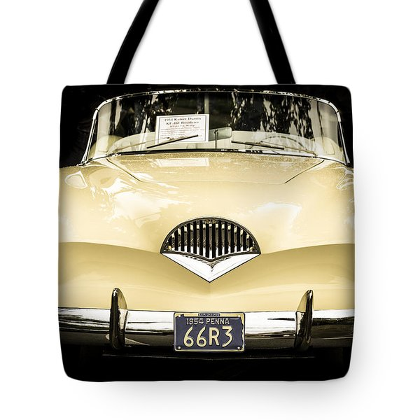 1954 Kaiser Darrin Kf-161 Roadster Tote Bag by Ronda Broatch