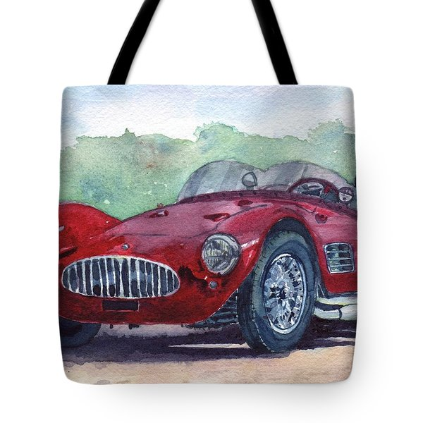 1954 Maserati A6 Gsc Tipo Mm Tote Bag