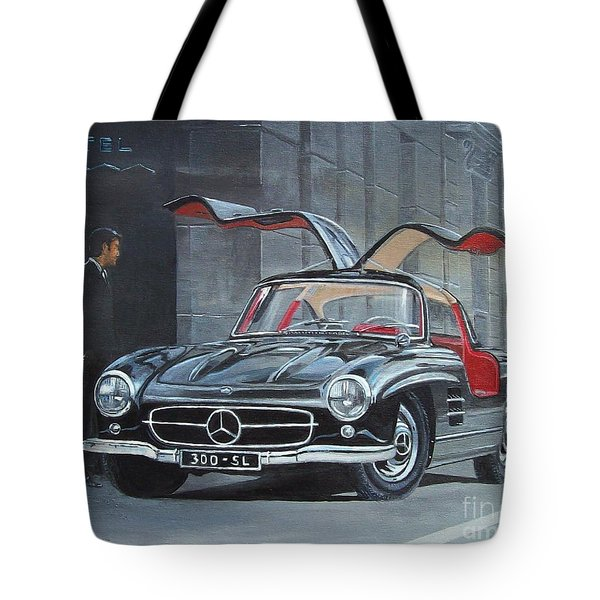 1954 Mercedes Benz 300 Sl Gullwing Tote Bag