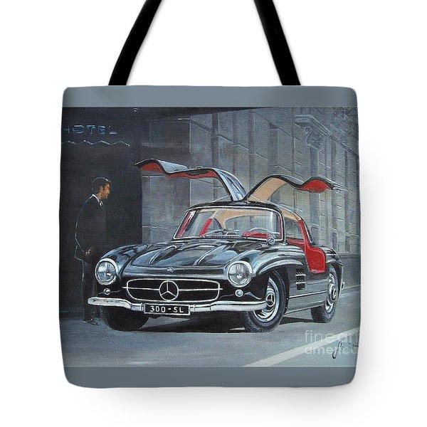 1954 Mercedes Benz 300 Sl Gullwing Tote Bag
