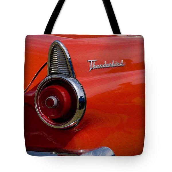 1955 427 Thunderbird Tail Light Tote Bag