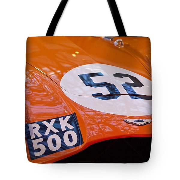 1955 Aston Martin Db3s Sports Racing Car Hood 2 Tote Bag