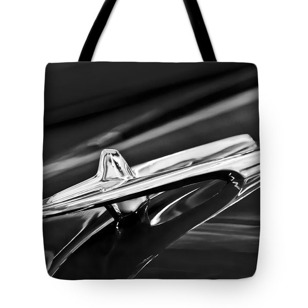 1955 Desoto Hood Ornament 4 Tote Bag by Jill Reger