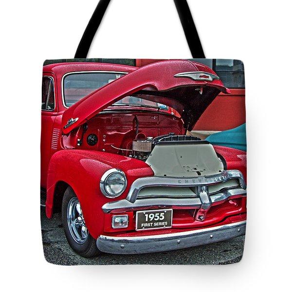 1955 First Series Tote Bag by Sonya Lang