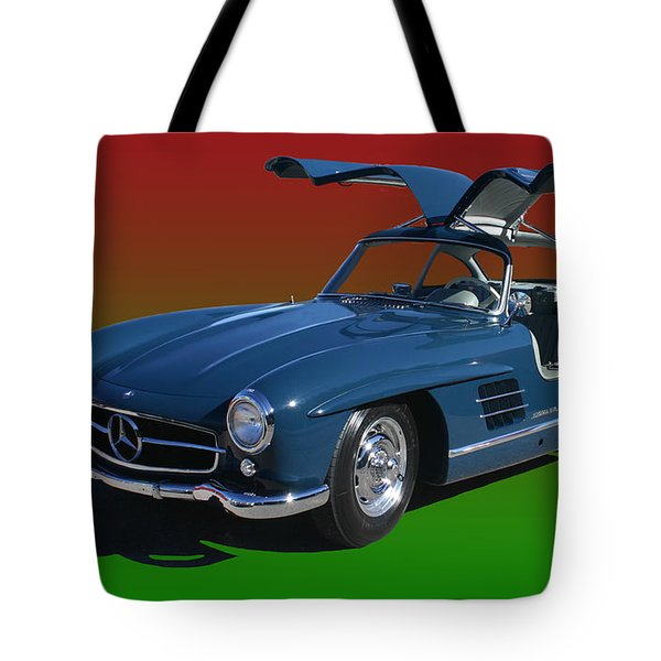 1955 Mercedes Benz 300 S L  Tote Bag