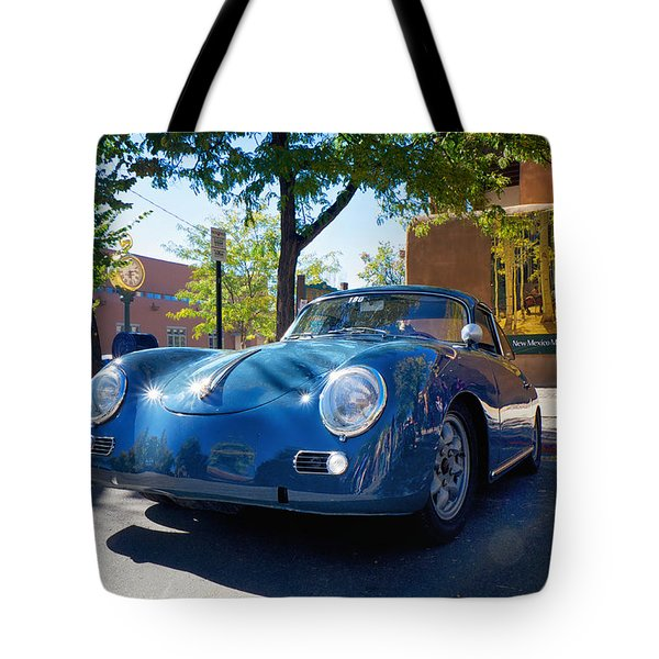 1956 356 A Sunroof Coupe Porsche Tote Bag