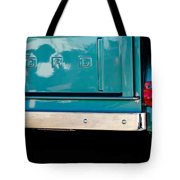 1956 Ford F-100 Truck Taillight 2 Tote Bag