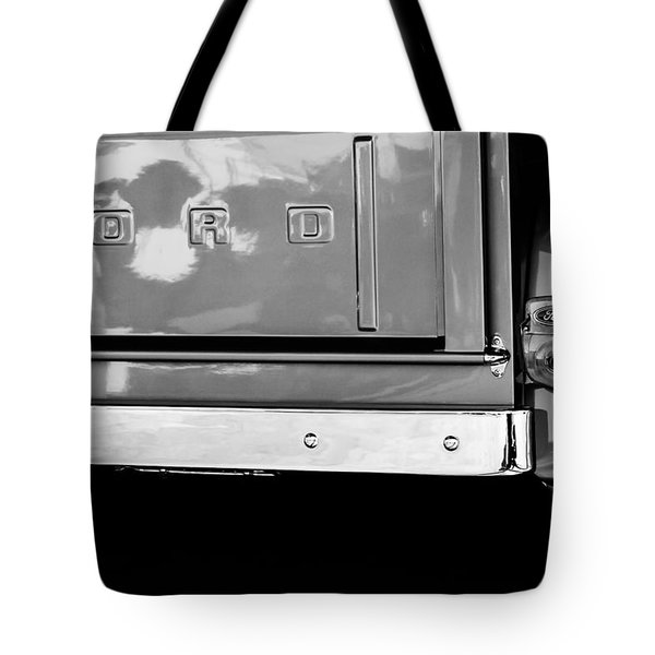 1956 Ford F-100 Truck Taillight Emblem Tote Bag