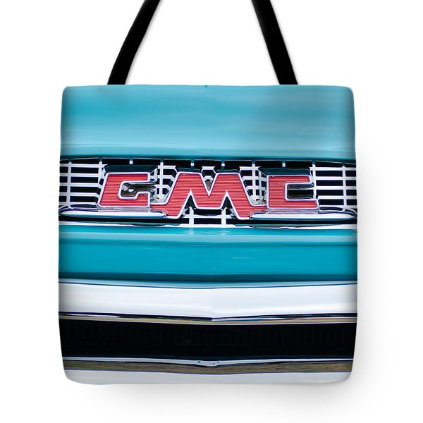 1956 Gmc 100 Deluxe Edition Pickup Truck Tote Bag by Jill Reger