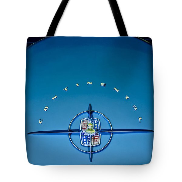 1956 Lincoln Continental Mark II Emblem Tote Bag