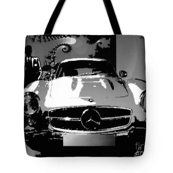 1956 Mercedes Benz 300 Sl Gullwing Tote Bag