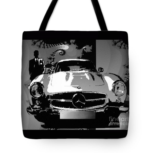 1956 Mercedes Benz 300 Sl Gullwing Tote Bag