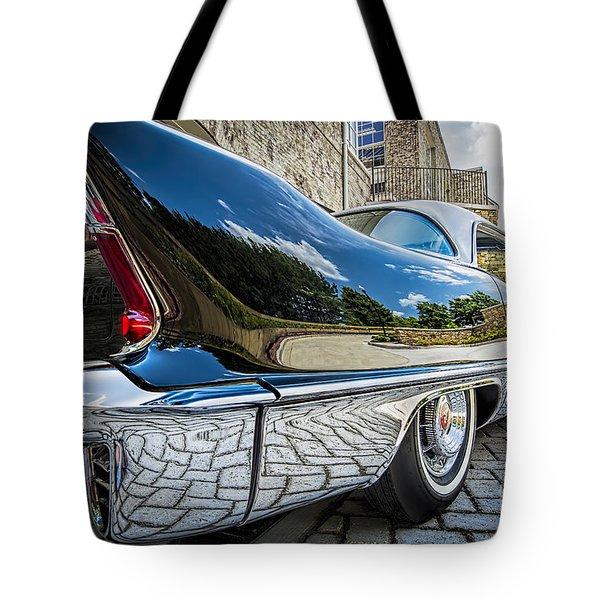 1957 Cadillac Eldorado Tote Bag