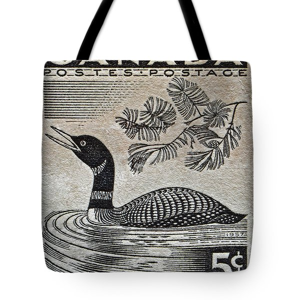 1957 Canada Duck Stamp Tote Bag by Bill Owen