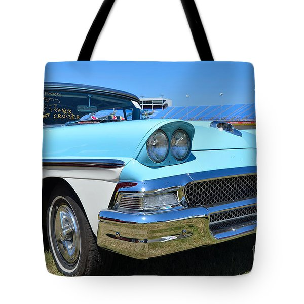 1958 Ford Tote Bag