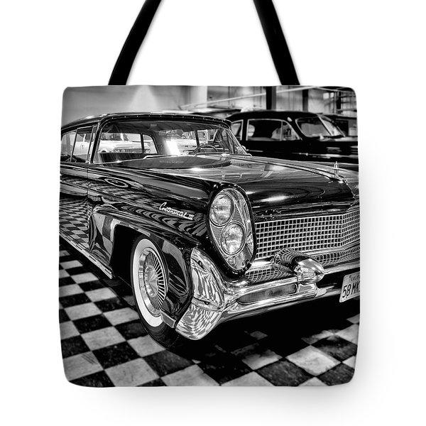 1958 Lincoln Continental Mk IIi Tote Bag