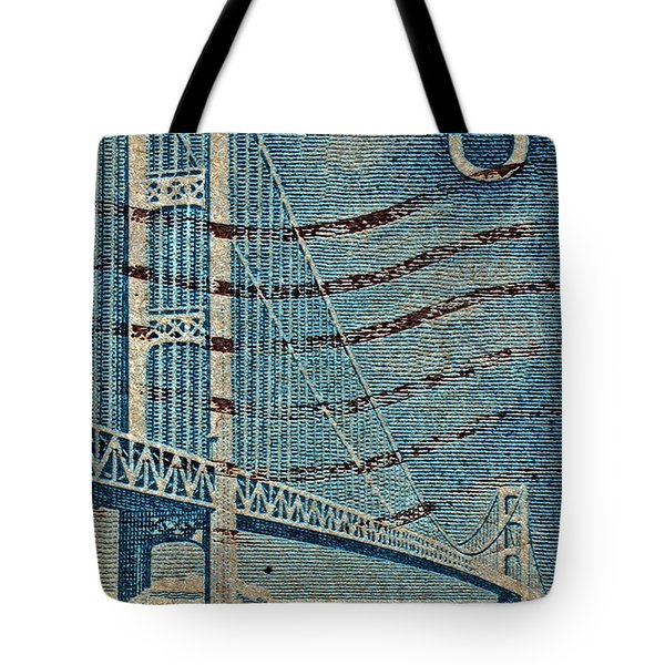 1958 The Mighty Mac Stamp Tote Bag by Bill Owen