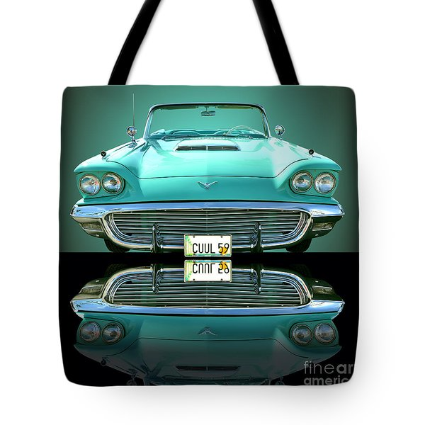1959 Ford T Bird Tote Bag