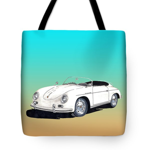 1959 Porsche Speedster Tote Bag