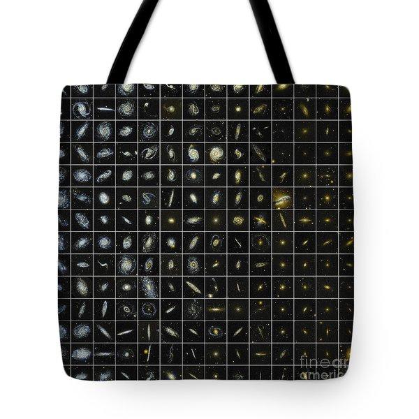 196 Galaxies Tote Bag by Science Source