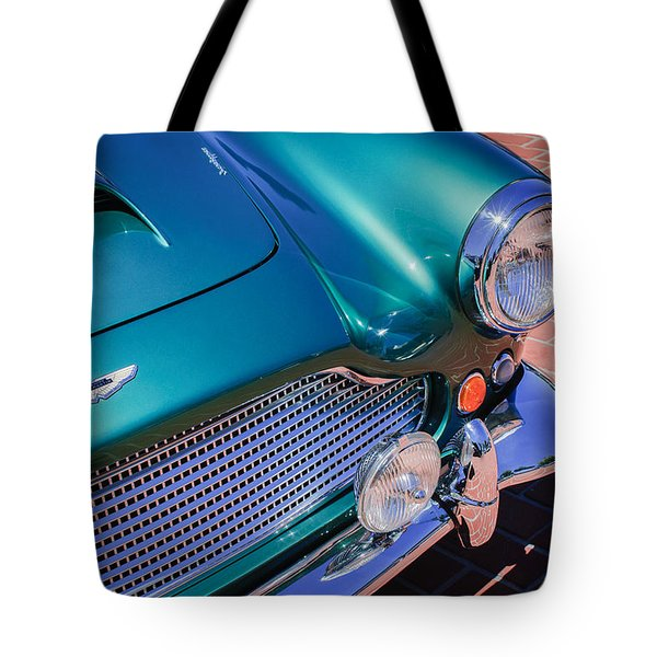 1960 Aston Martin Db4 Series II Grille Tote Bag by Jill Reger
