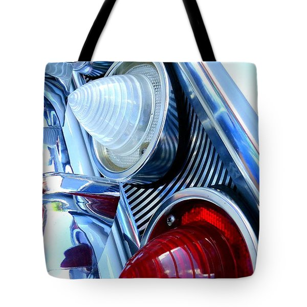 Tote Bag featuring the photograph 1960 Chevrolet Impala by Joseph Skompski