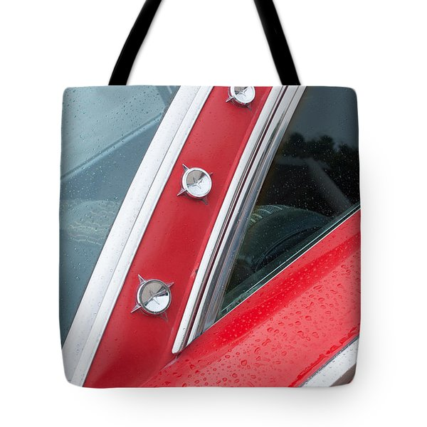 1960 Ford Galaxie Starliner Tote Bag by Jill Reger