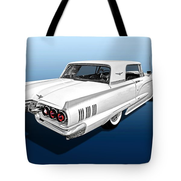 1960 Ford Thunderbird Tote Bag