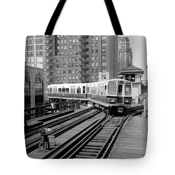 1960s 1970s Chicago Public Tote Bag