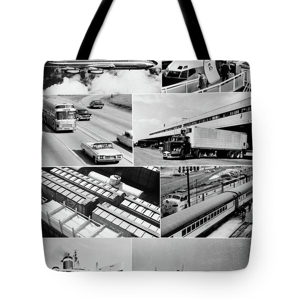 1960s Montage Of Various Forms Tote Bag