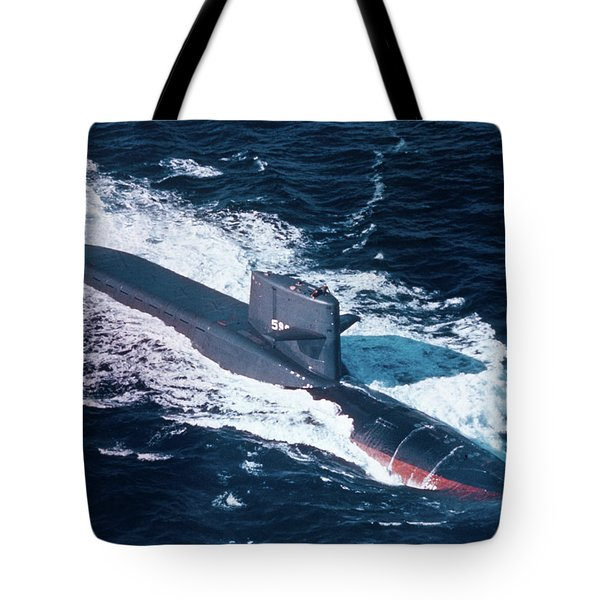 1960s Nuclear Submarine Uss George Tote Bag