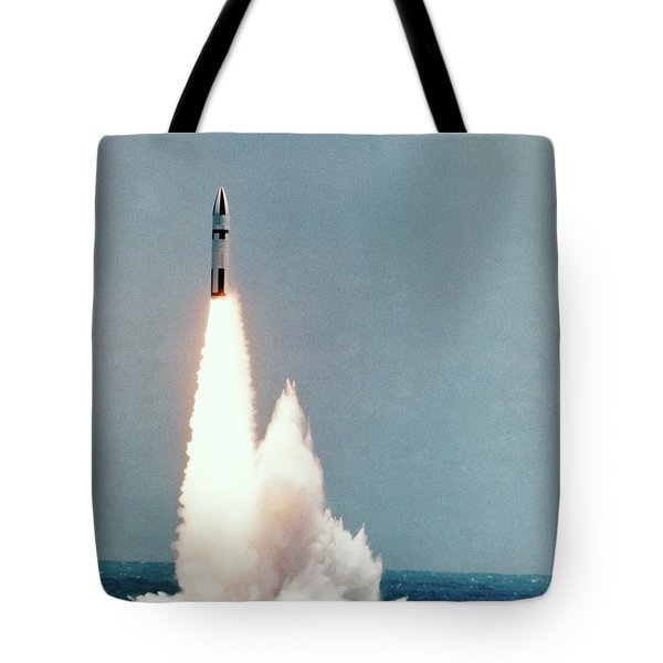 1960s Polaris A-3 Missile Launch Tote Bag