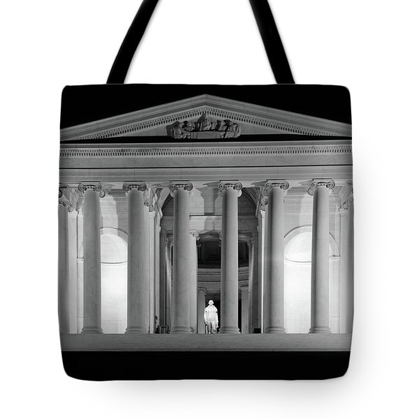 1960s Thomas Jefferson Memorial Lit Tote Bag
