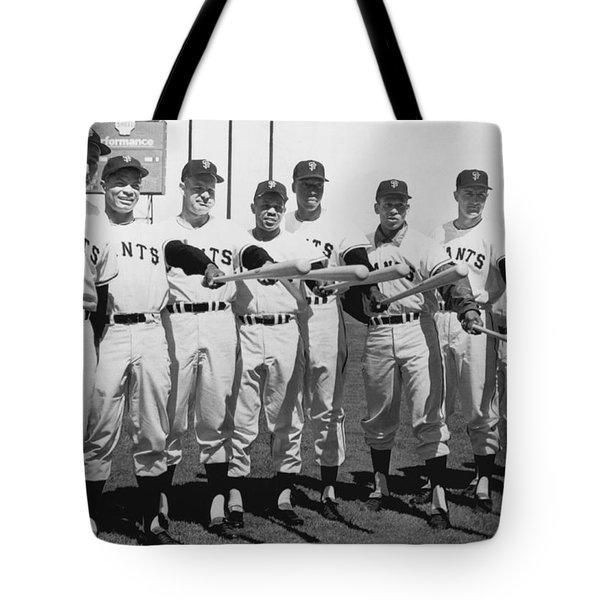 1961 San Francisco Giants Tote Bag