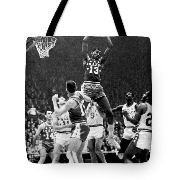 1962 Nba All-star Game Tote Bag