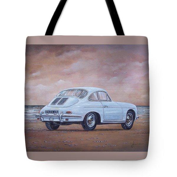1962 Porsche 356 Carrera 2 Tote Bag