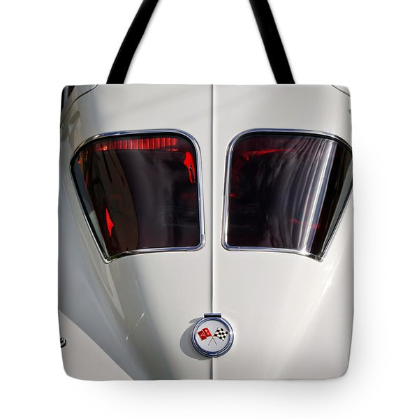 1963 Chevrolet Corvette Split Window -399c Tote Bag