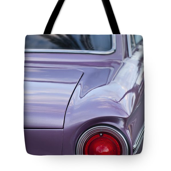 1963 Ford Falcon Tail Light Tote Bag by Jill Reger