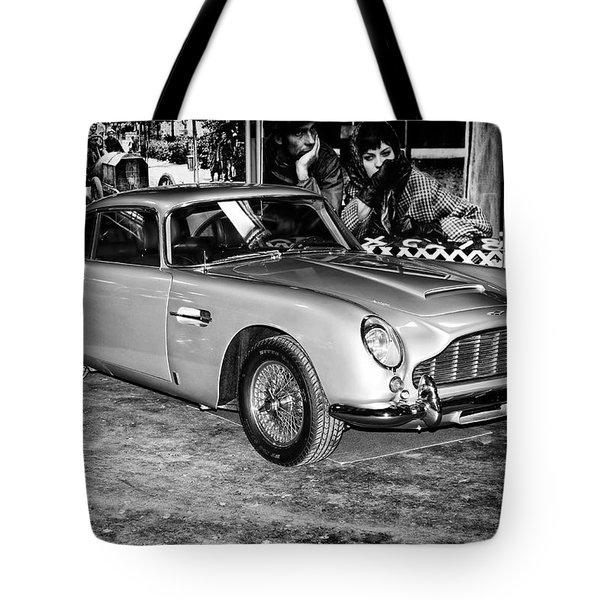 1964 Aston Martin Db5 Tote Bag