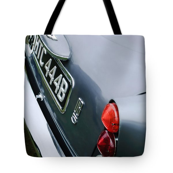 1964 Aston Martin Db5 Coupe' Taillight Tote Bag